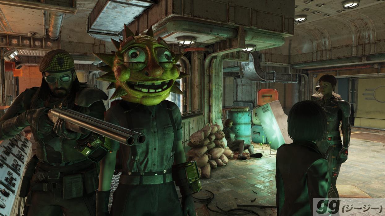 Fallout 76 ファスナハト 太陽マスク