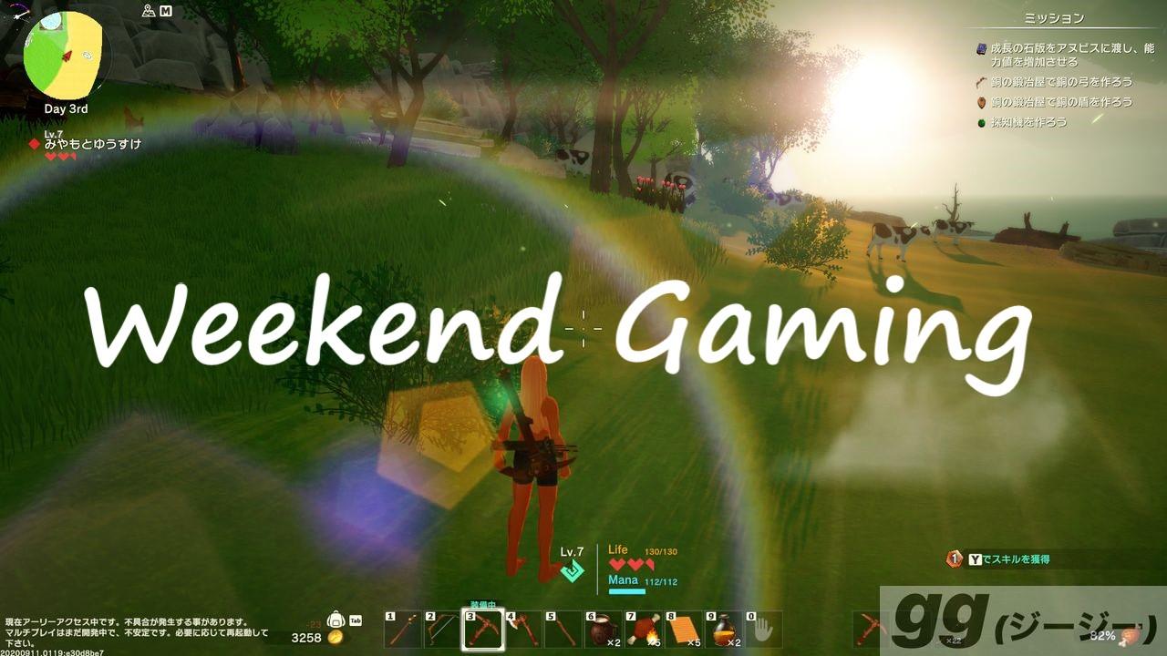 週末ゲーミング Craftopia/クラフトピア