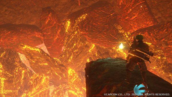 モンハンライズ 溶岩洞窟