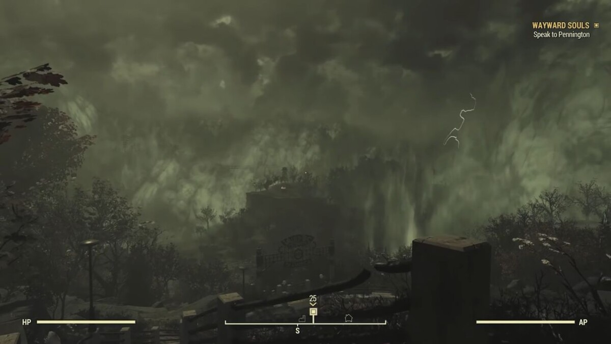 Fallout 76 Fallout Worlds 放射能嵐
