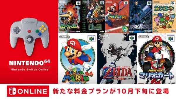 Nintendo Switch Online 追加パック NINTENDO64